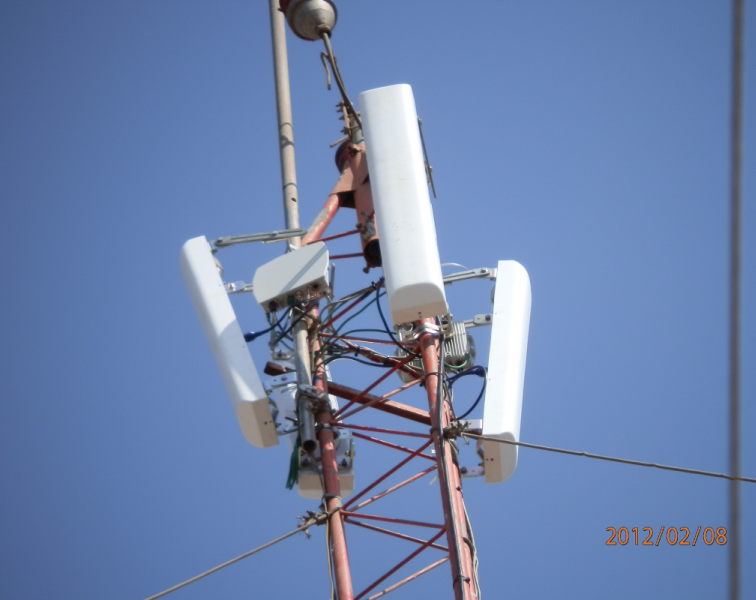 2.0-2.3 GHz PTMP deployment in Angola