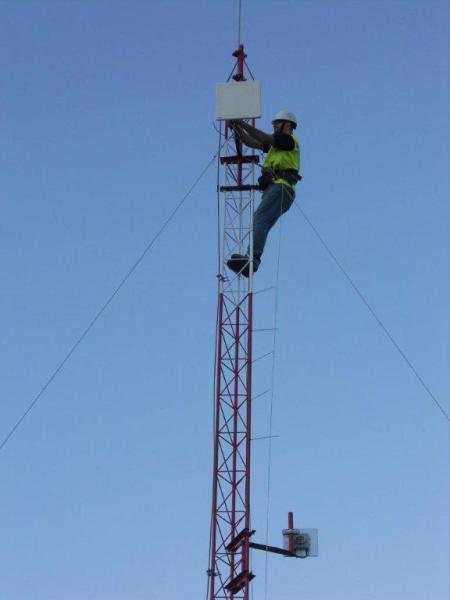 Installation in Chile – power via solar panels