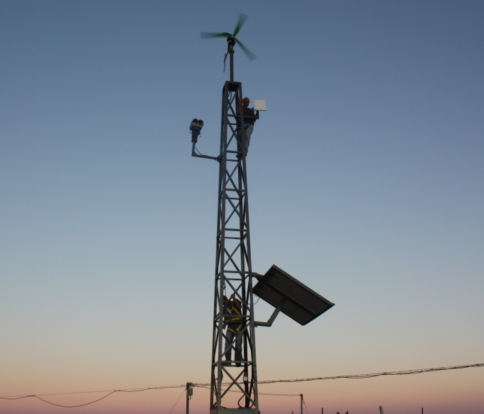 Israeli Defense Force (IDF) selects WipAir wireless technology for its solar powered surveillance stations