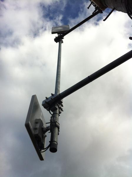 2.5 GHz installation in New Zealand