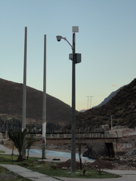WipAir 6000 Point-to-Multipoint – surveillance project in Peru