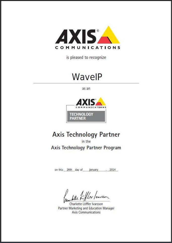 Axis & WaveIP