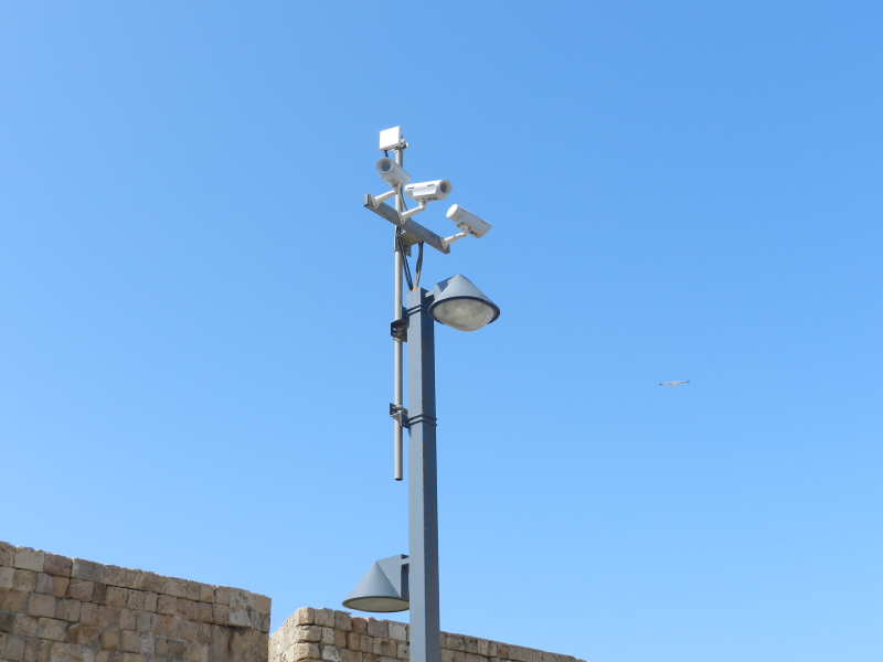 Safe City Video Surveillance Project – Acre, Israel
