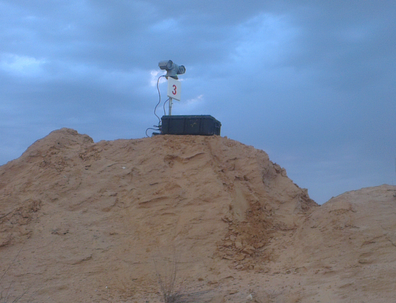 Israeli Army – live ammunition surveillance