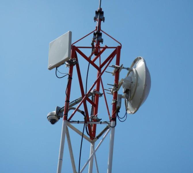 Surveillance in Chile – power via solar panels