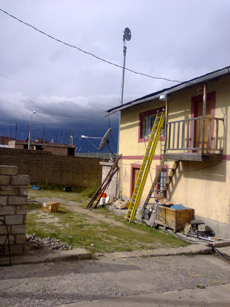 Installation in Peru